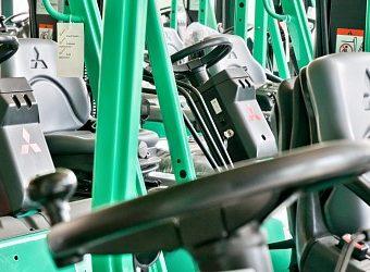 La gamma di carrelli elevatori usati