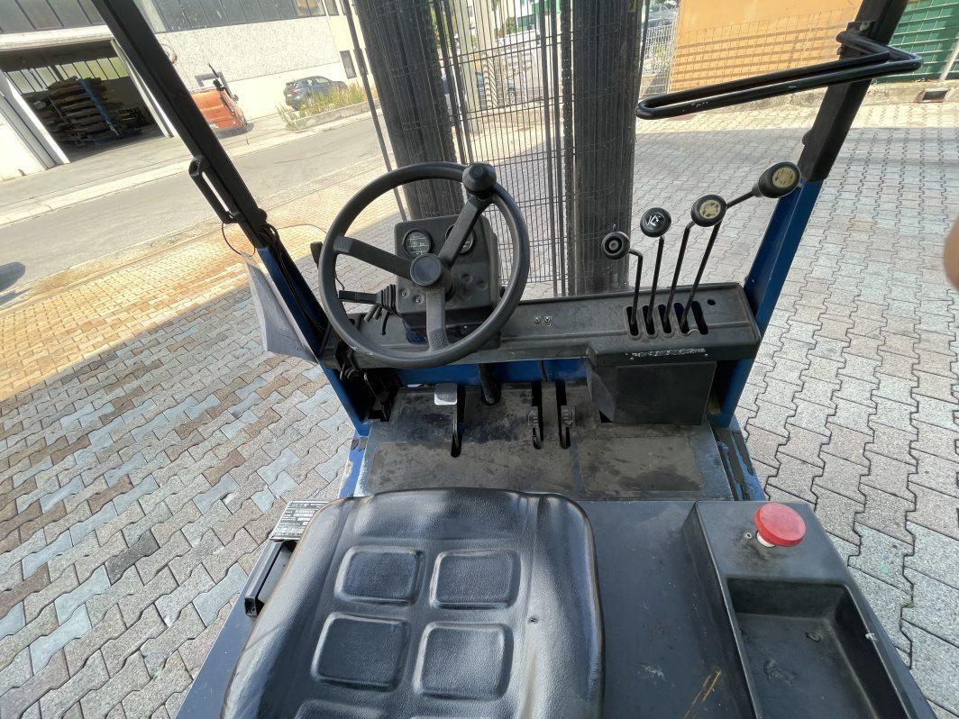 Carrello elevatore frontale elettrico muletto usato da 40q Degrocar Mitsubishi Vicenza